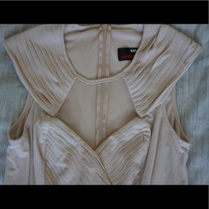 Miss sixty nude dress